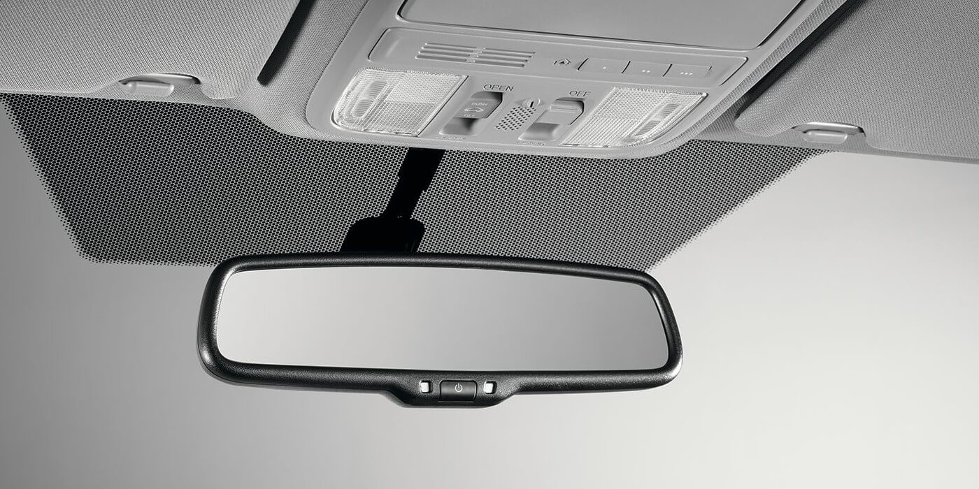 2016 Honda Civic Coupe Automatic-Dimming Mirror