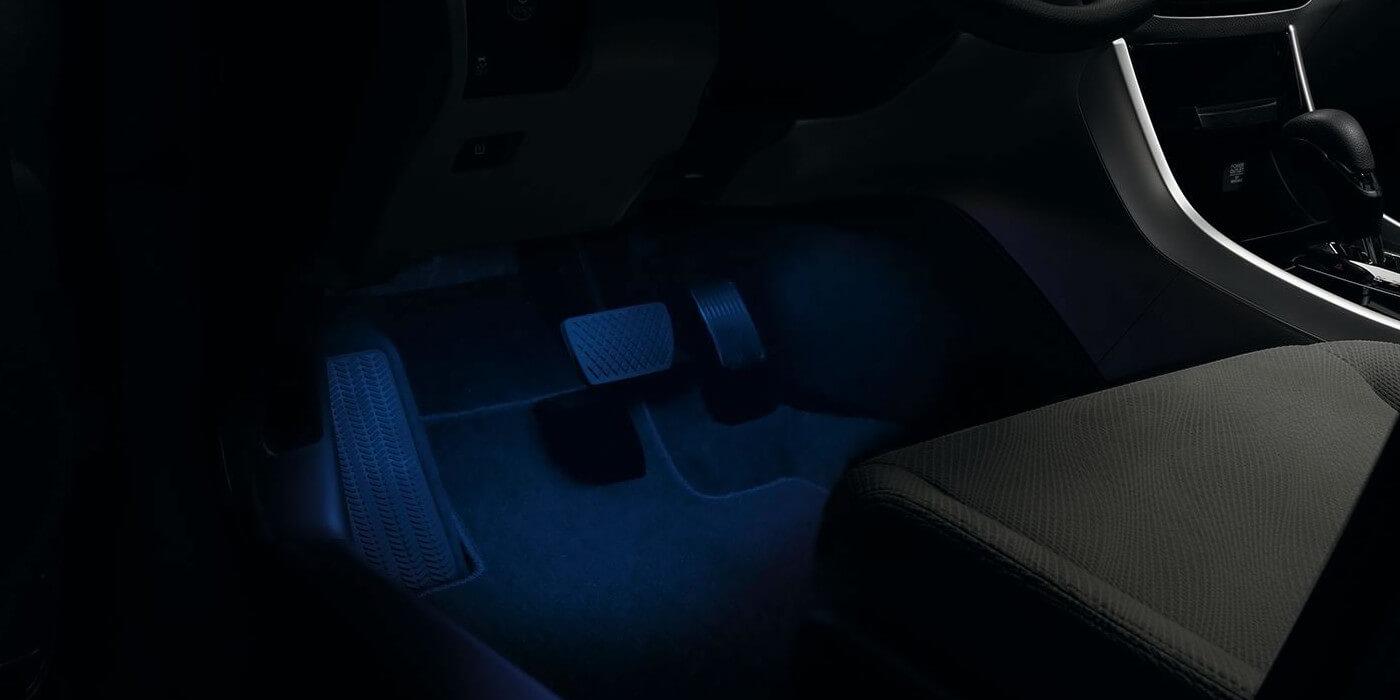 2016 Honda Civic Coupe Interior Illumination