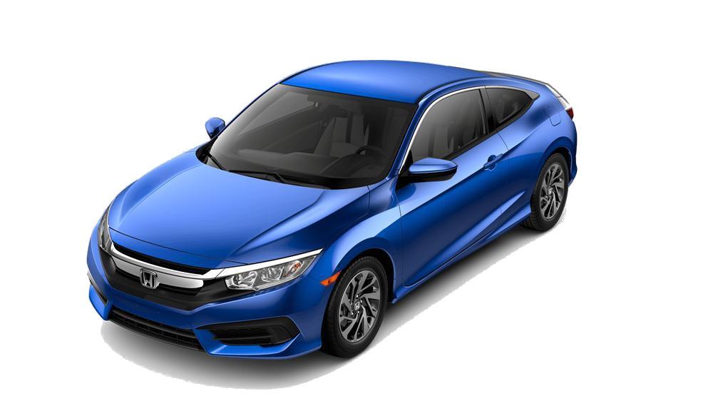 2016 Honda Civic Coupe LX white bg