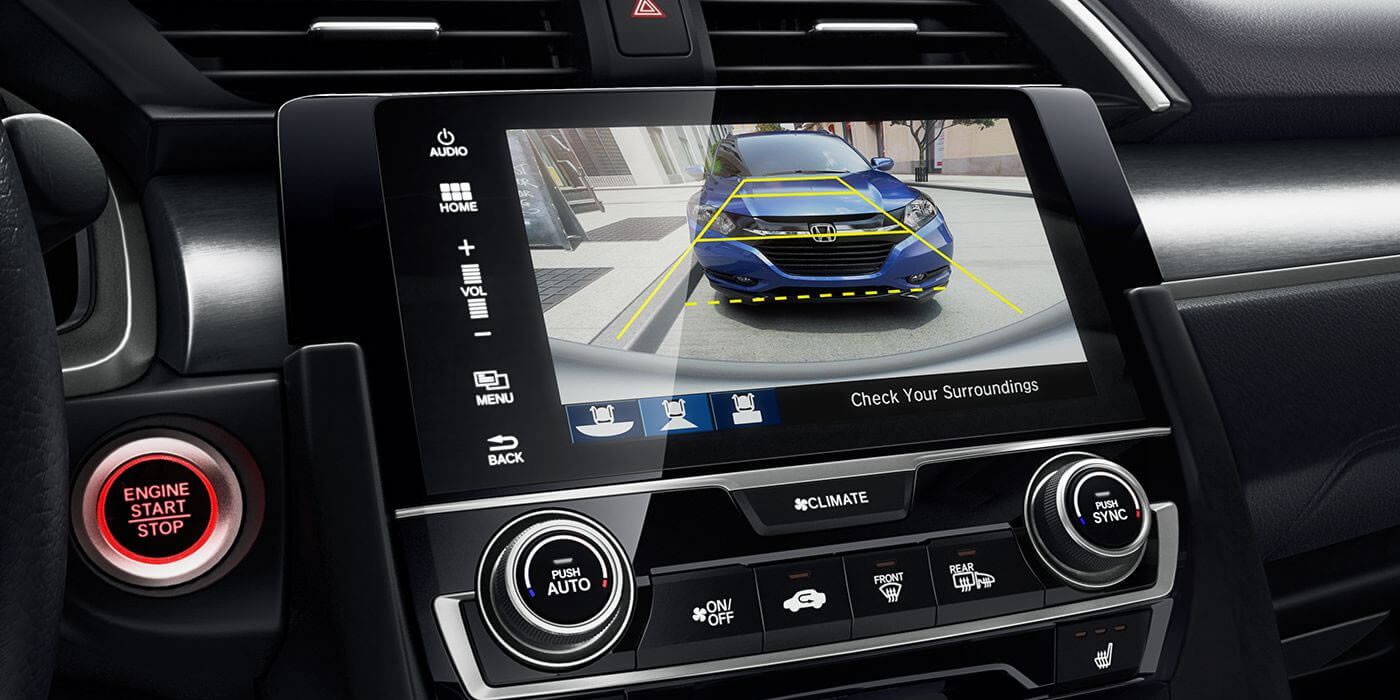 2016 Honda Civic Coupe Multi-Angle Rearview Camera