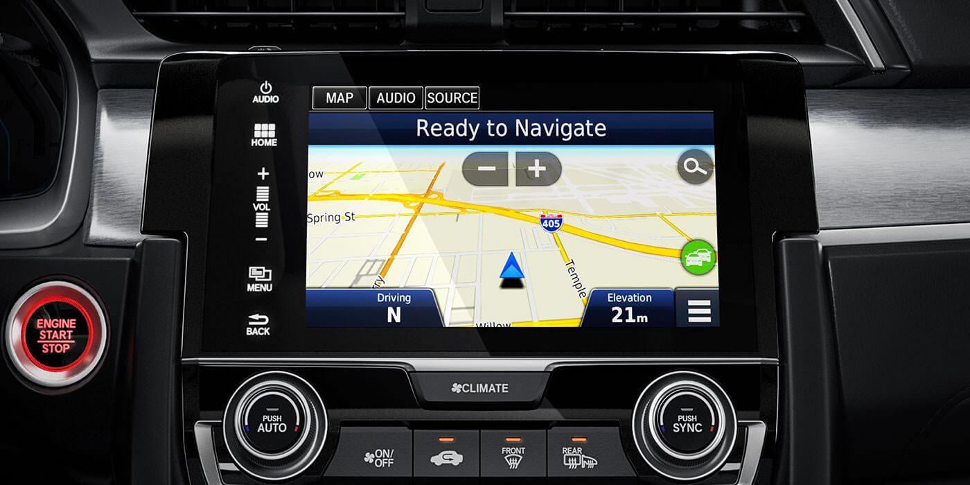 2016 Honda Civic Coupe Navigation System