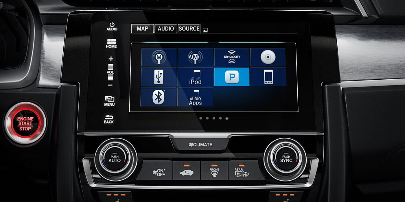 2016 Honda Civic Coupe Streaming Audio