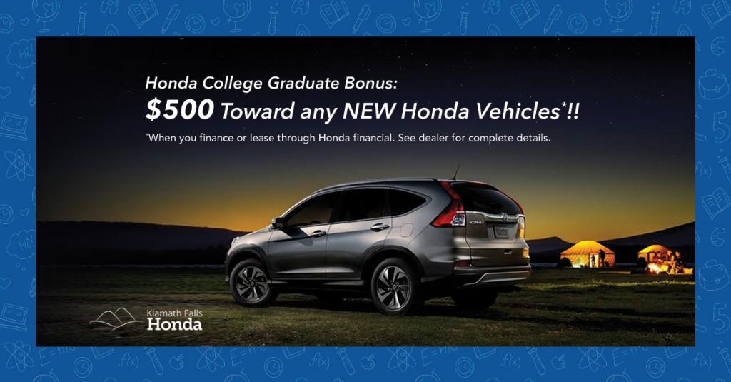 Honda Graduate Bonus