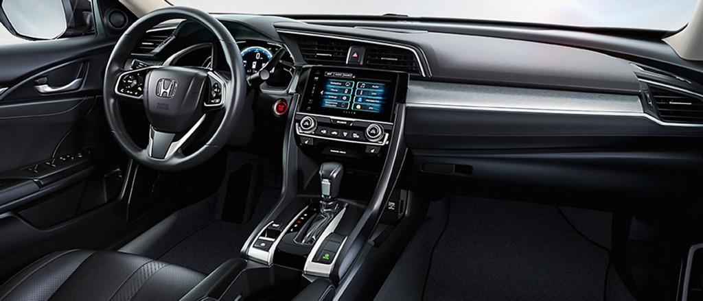 Superb 2017 Honda Civic Interior