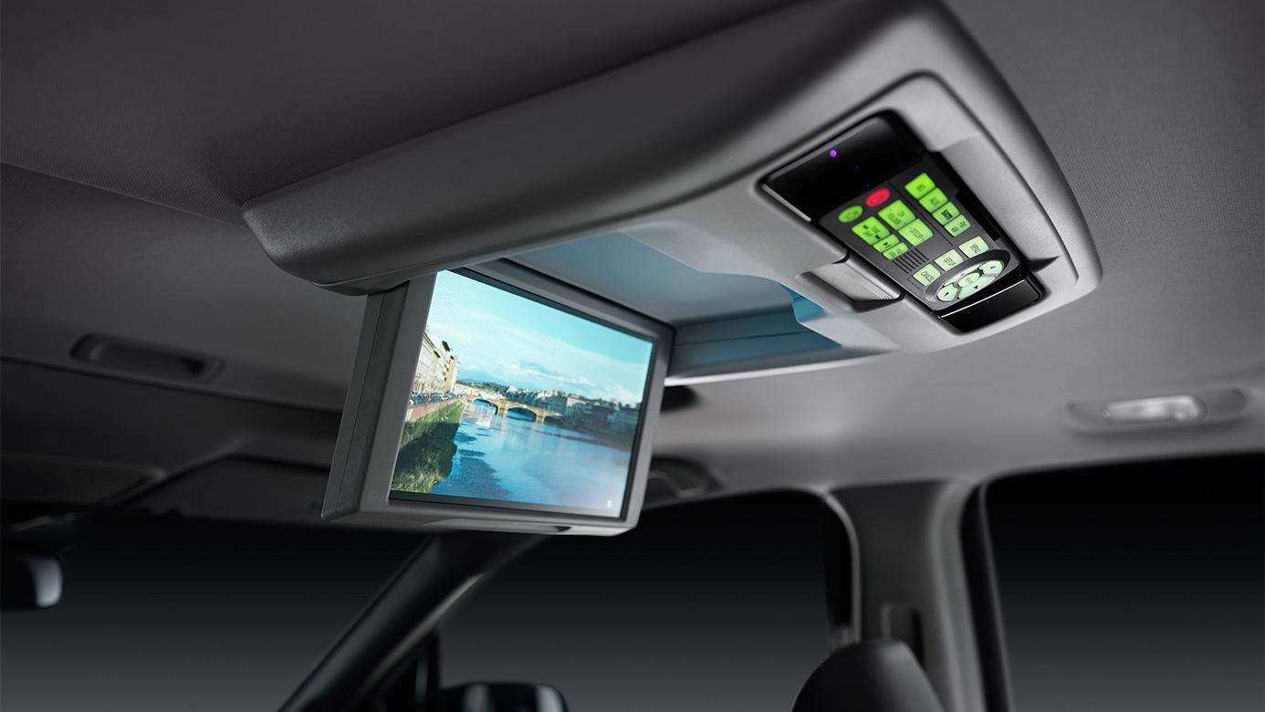 Car interior entertainment - Rear Entertainment System