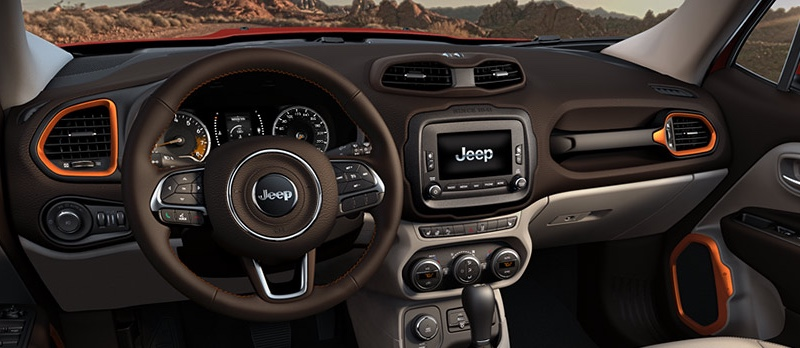 Explore The Cutting Edge Features Of The 2016 Jeep Renegade