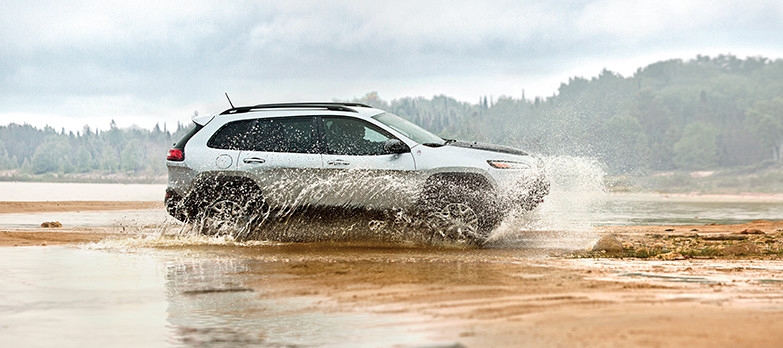 2017 Jeep Cherokee Splash