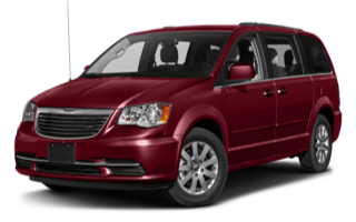 2016 Chrysler T&C Red