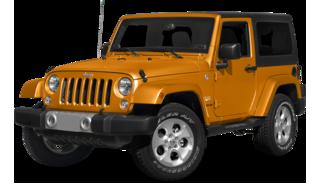 2015 Jeep Wrangler Orange