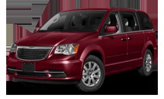 2016 Chrysler T&C Red