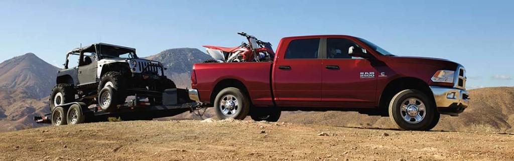 2016 Ram 2500 Towing