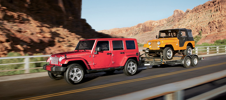 2017 Jeep Wrangler Towing