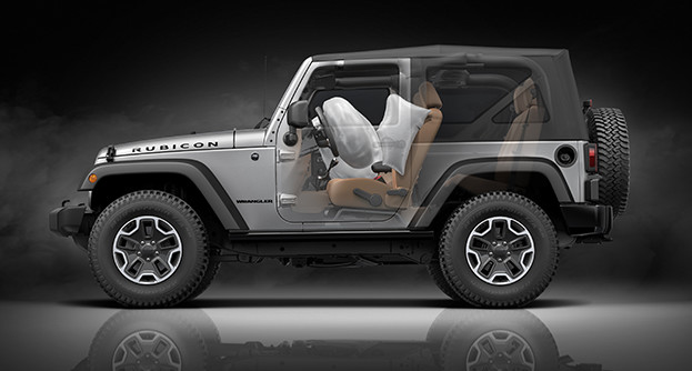 2017 Jeep Wrangler Airbags