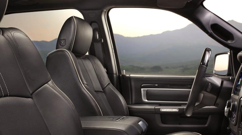 2016 Ram 1500 comfortable interior