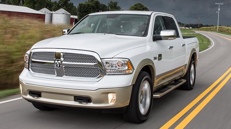 white 2016 Ram 1500