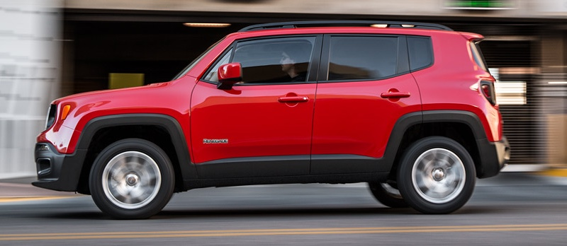 2016 Renegade red exterior