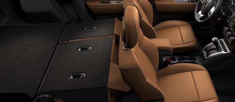 2016 Jeep Compass spacious interior