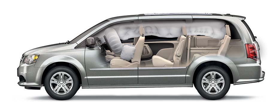 2017 Dodge Grand Carvan Airbags