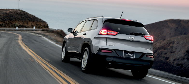 2017 Jeep Cherokee Rear
