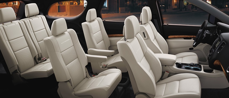 2016 Dodge Durango Interior Space