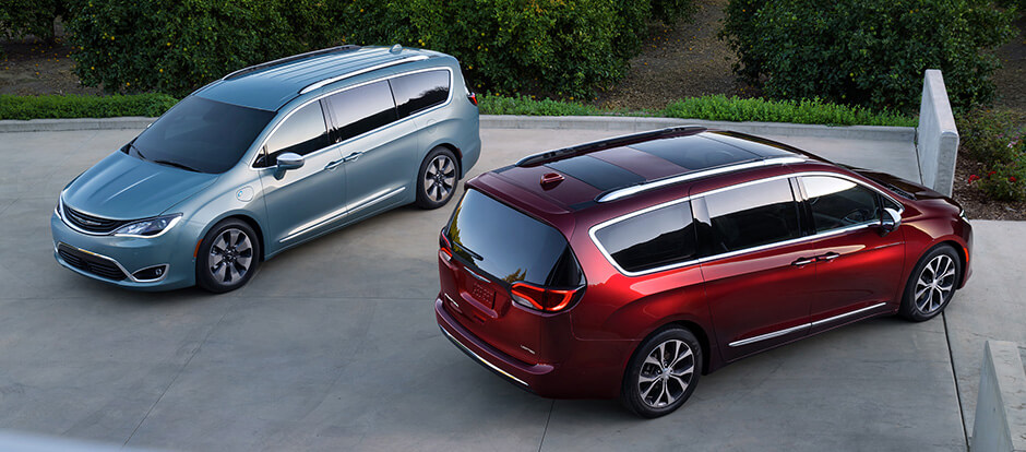 2017 Chrysler Pacifica models