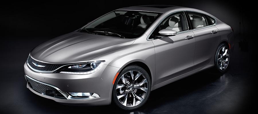 2016 Chrysler 200 gray exterior