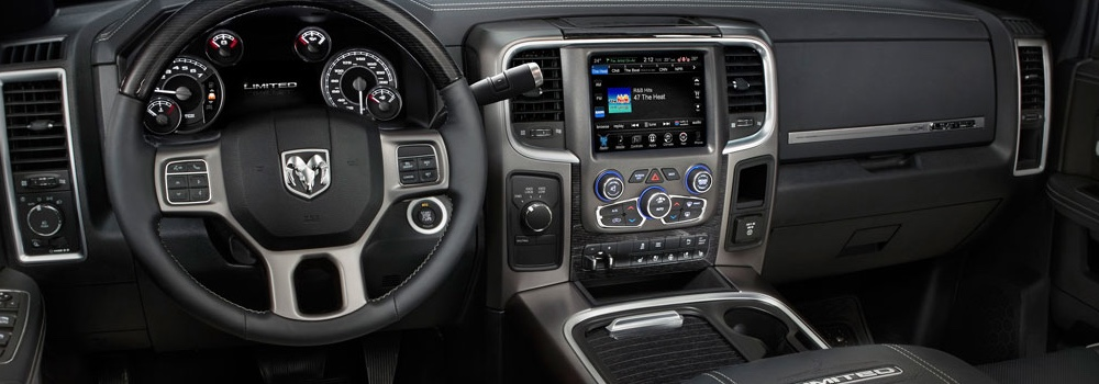 2016 Ram 3500 interior technology