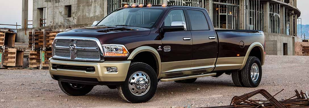 2016 Ram 3500 dark exterior