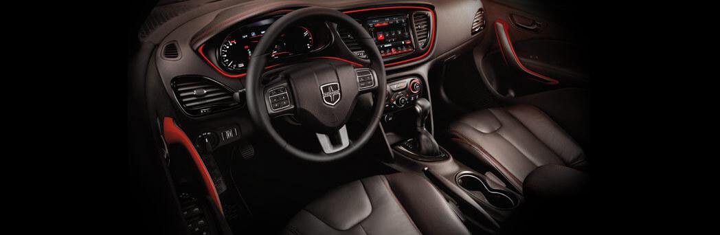 2016 Dodge Dart front interior