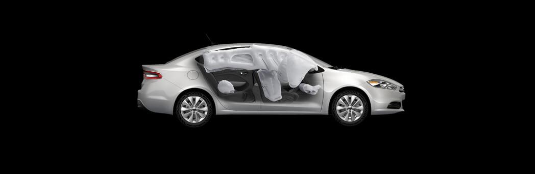 2016 Dodge Dart interior safety features