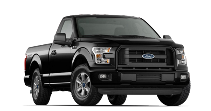 2016 Ford F-150 black exterior