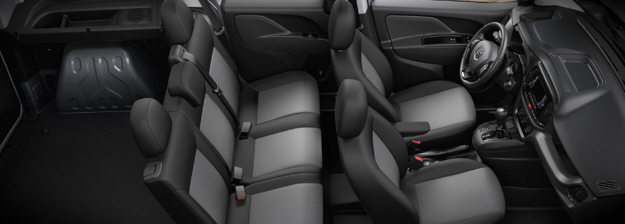 2016 Ram ProMaster City Interior Seating