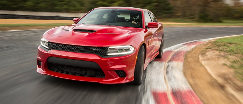 2016 Dodge Charger red exterior