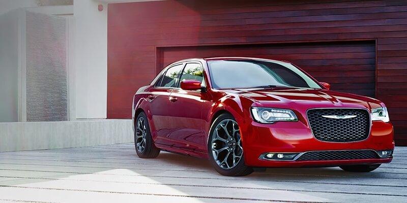 2016 Chrysler 300 red exterior model