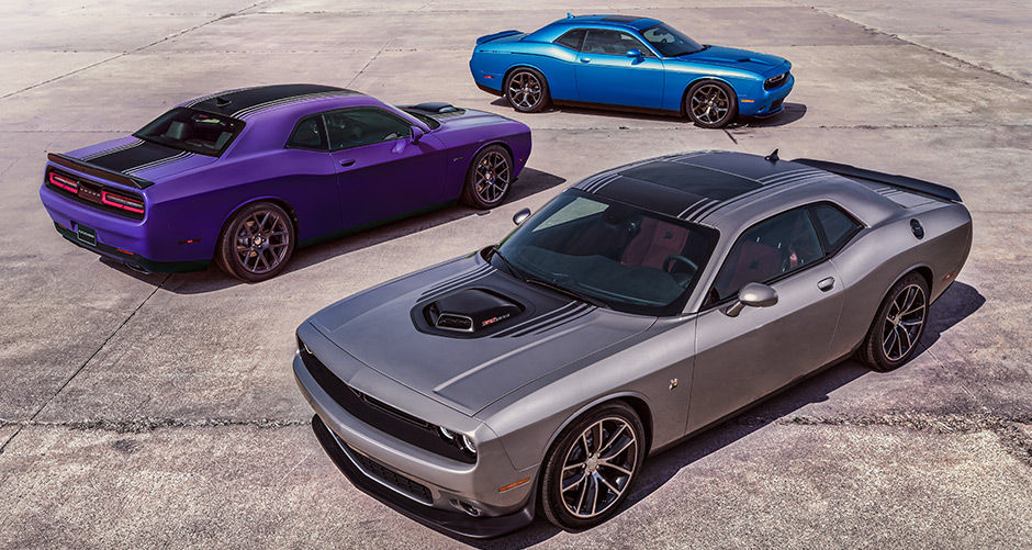 2016 Dodge Challenger three