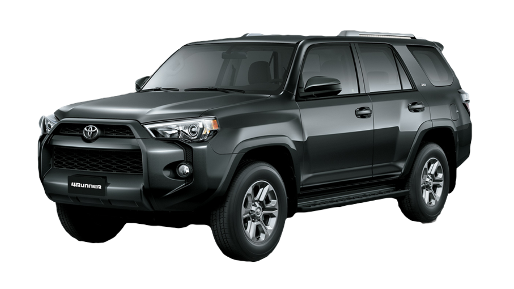 2016 Toyota 4Runner dark exterior