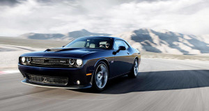 2016 Dodge Challenger driving
