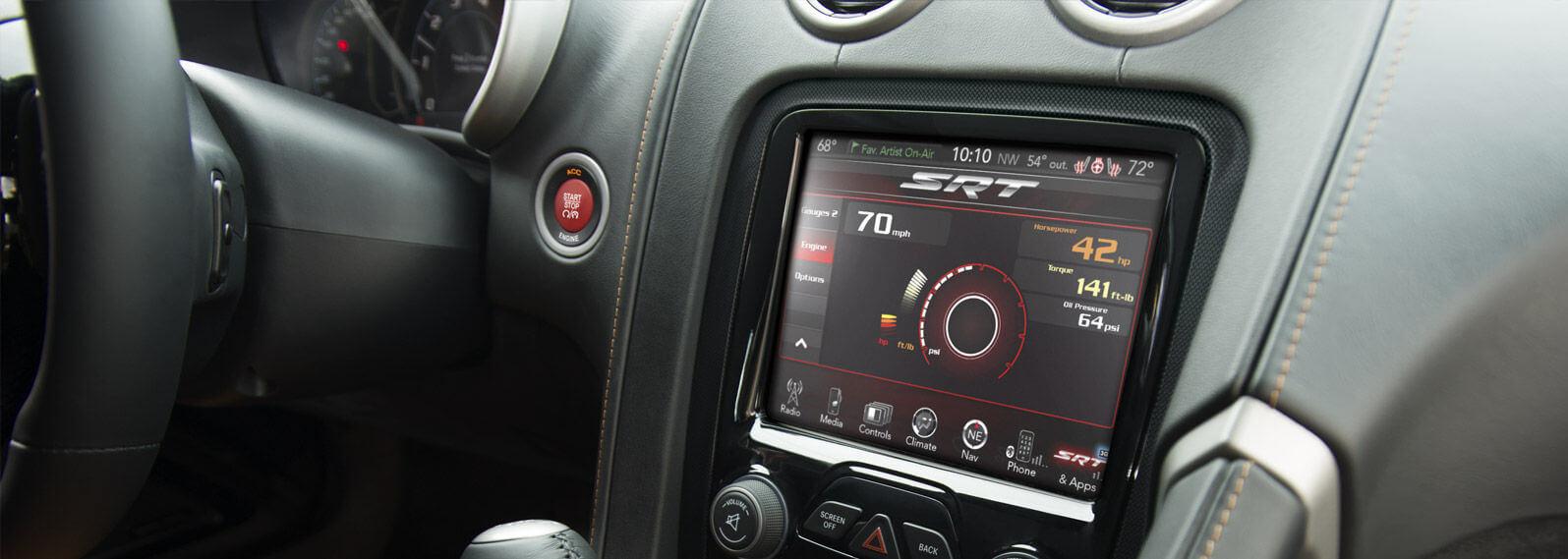 2016 Dodge Viper touchscreen