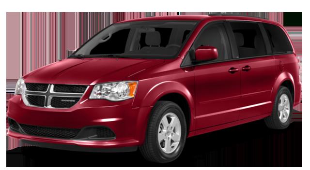 2016 Dodge Caravan Red