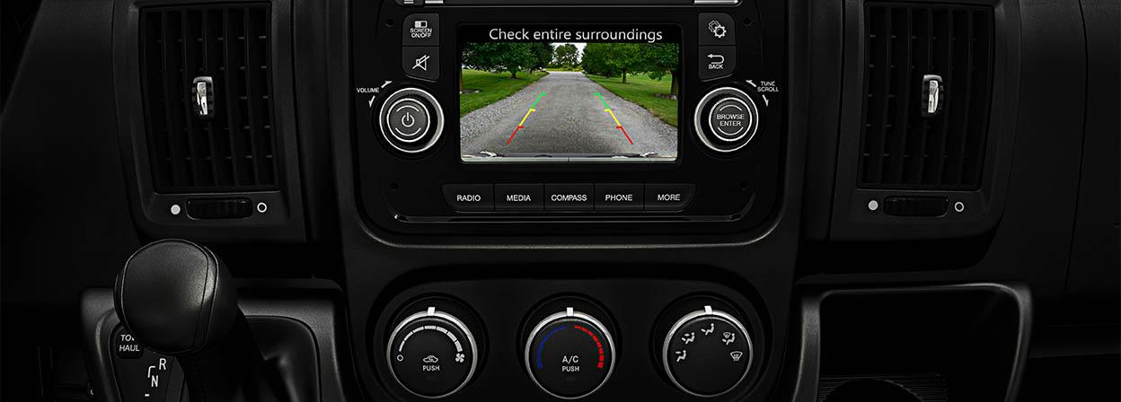 2016 Ram ProMaster camera