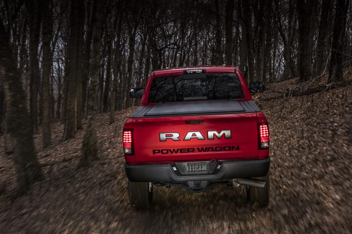 2017 Ram Power Wagon rear