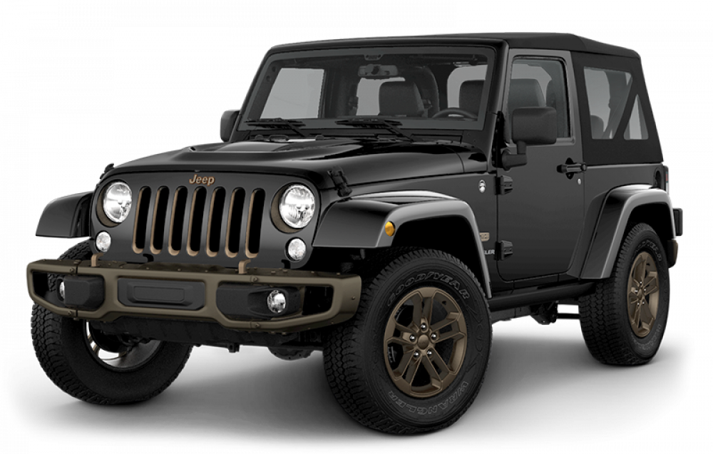 2016 Jeep Wrangler UNL black