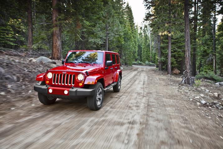 2016 Jeep Wrangler UNL driving