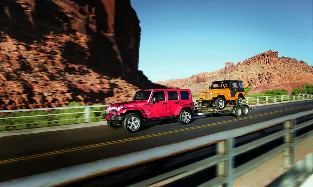 2016 Jeep Wrangler UNL pair