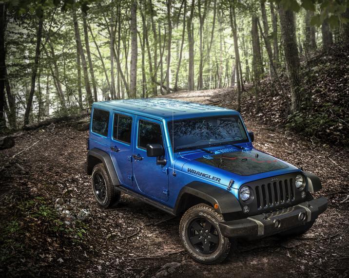 2016 Jeep Wrangler UNL blue