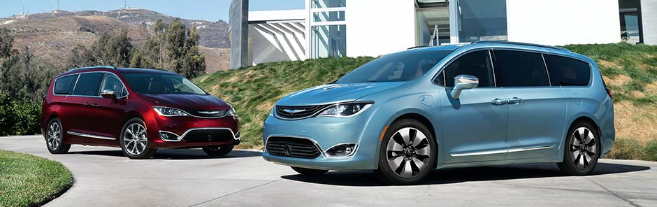 2017 Chrysler Pacifica Pair