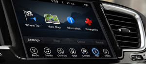 2017 Chrysler Pacifica Touchscreen