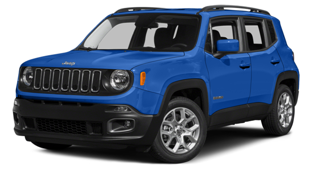 2015 Jeep Renegade Blue