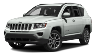 2016 Jeep Compass White