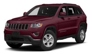 2016 Jeep Grand Cherokee Red